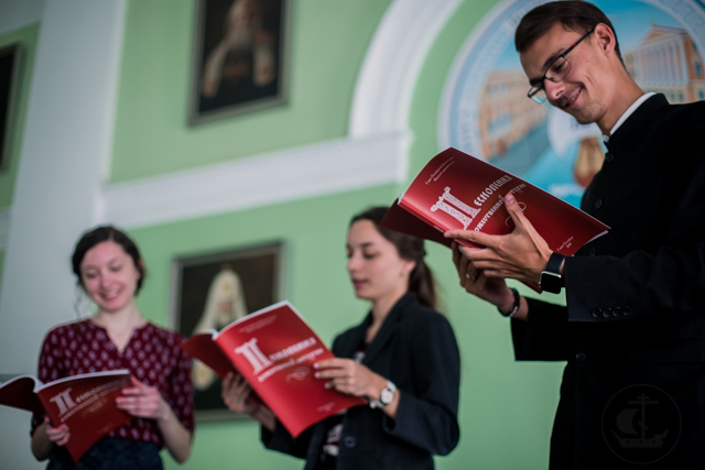 Два нотных сборника вышли в Издательстве Духовной Академии