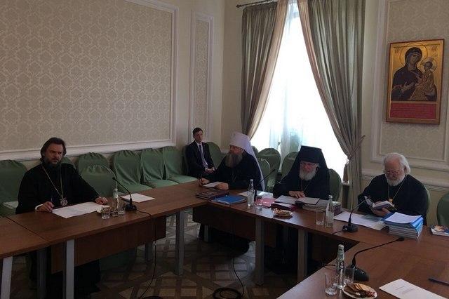 Ректор Академии участвовал в заседании комиссии по канонизации святых