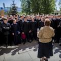В Духовной Академии проведена учебная пожарная тревога