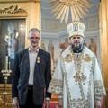 Архиепископ Амвросий наградил сотрудников Академии в связи с 5-летием работы Издательства СПбДА