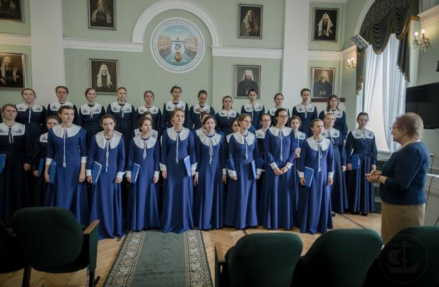 На факультете Церковных Искусств прошел выпускной экзамен