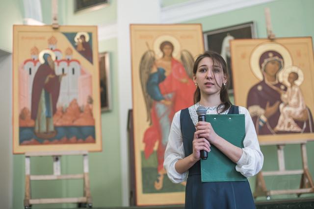 Выпускники Иконописного отделения написали иконы для монастырского иконостаса в Новгородской епархии
