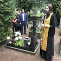 Студенты Академии совершили заупокойную литию у могилы последнего ректора дореволюционной Академии