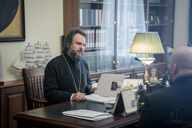 В Духовной Академии начались вступительные экзамены