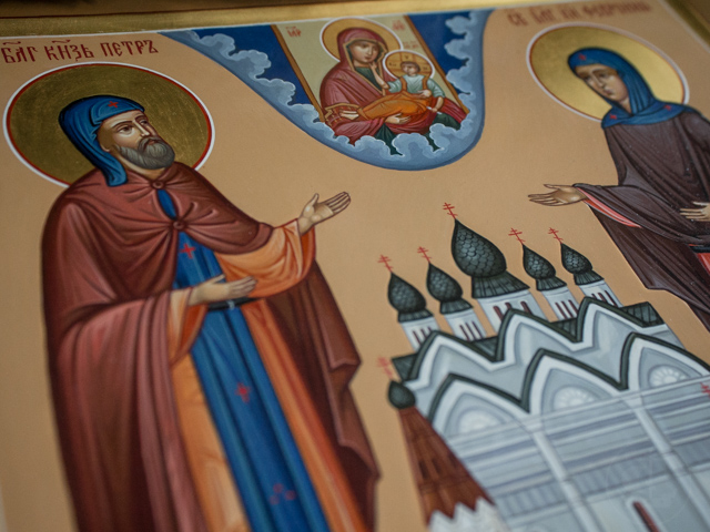 В Духовной Академии прошли богослужения дня памяти святых Петра и Февронии
