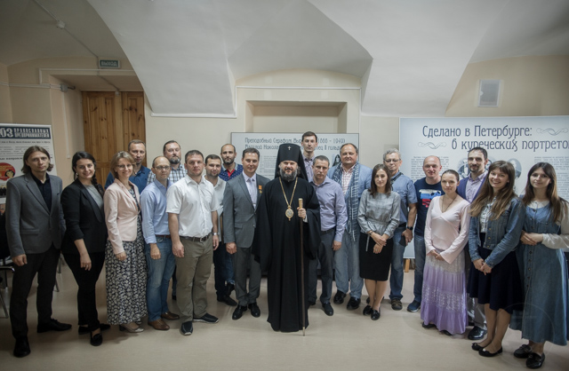 В Санкт-Петербургской Духовной Академии прошло празднование престольного дня храма Двенадцати апостолов