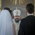 В храме Иоанна Богослова две молодые пары соединили свои судьбы в Таинстве Венчания