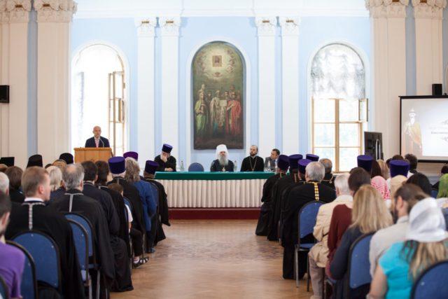 Ректор Академии и проректор по научной работе приняли участие в конференции «1030-летие Крещения Руси»