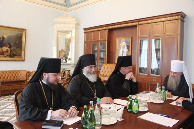 Состоялось заседание архиерейского совета Санкт-Петербургской митрополии