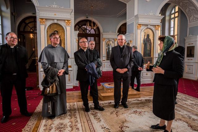 Духовную Академию посетили представители Католического университета Люблина