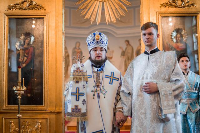 В праздник Покрова Богородицы ректор Академии совершил первую хиротонию