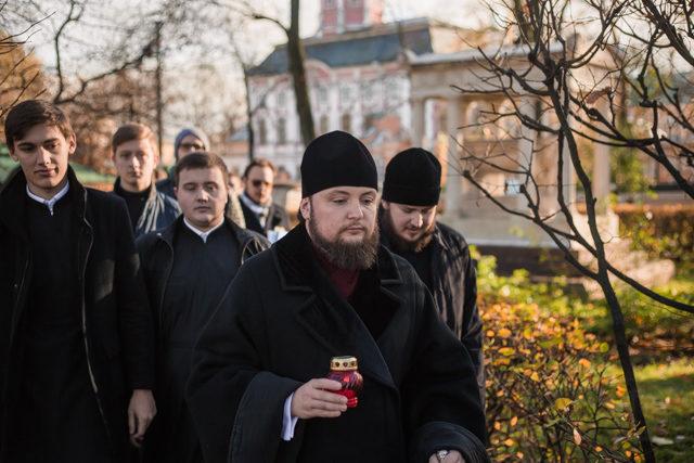 Ректор и студенты Академии молитвенно почтили память Д. С. Бортнянского