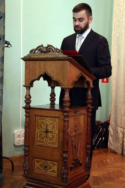 Проректор по воспитательной работе принял участие в актовом дне Перервинской духовной семинарии