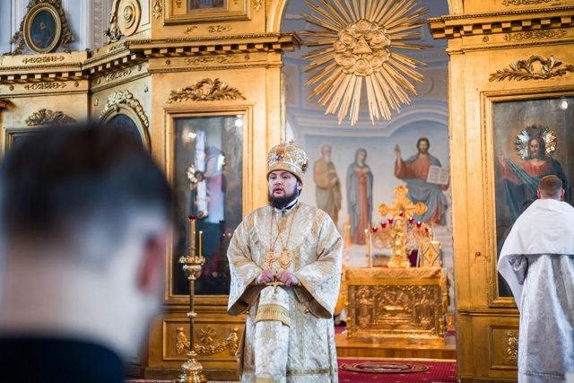 Студент Духовной Академии принял диаконский сан