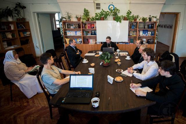 В Книжной гостиной прошло первое в новом учебном году заседание Византийского каб