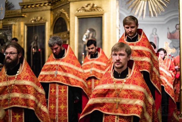 Академия молилась своим святым выпускникам – новомученикам и исповедникам XX века