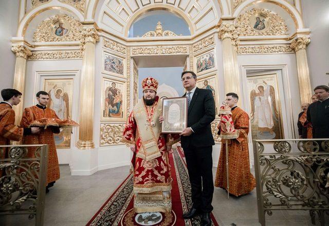 оминая первую кровь. Ректор Духовной Академии почтил память священномученика Иоанна Царскосельского