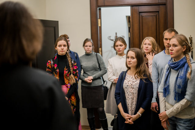 Студенты межвузовской Ассоциации «Покров» посетили Духовную Академию