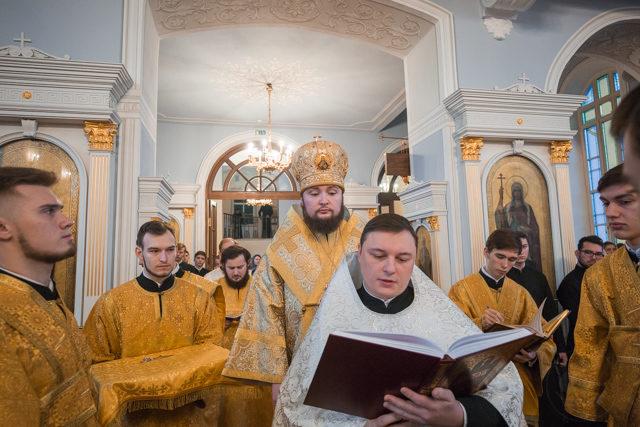 Студент Академии принял священный сан