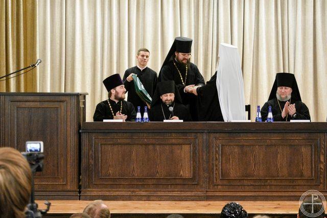 Секретарь Ученого совета Академии участвовал в Актовом дне Минской Духовной школы