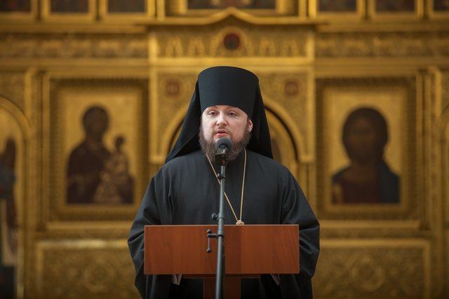 Епископ Серафим принял участие в Актовом дне Православного Свято-Тихоновского гуманитарного университета