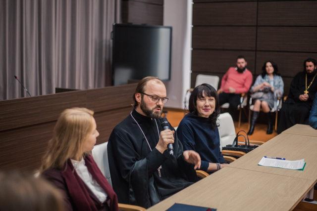 «Свобода и ответственность»: ректор и студенты Духовной школы приняли участие в Рождественских чтениях
