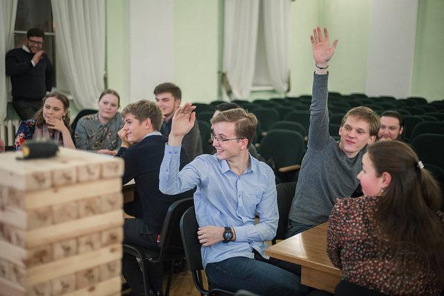 Первая «Academy game». Студенты Духовной Академии положили начало новой традиции
