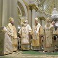 Ректор Академии сослужил правящему архиерею Санкт-Петербурга за вечерним богослужением в праздник Рождества Христова