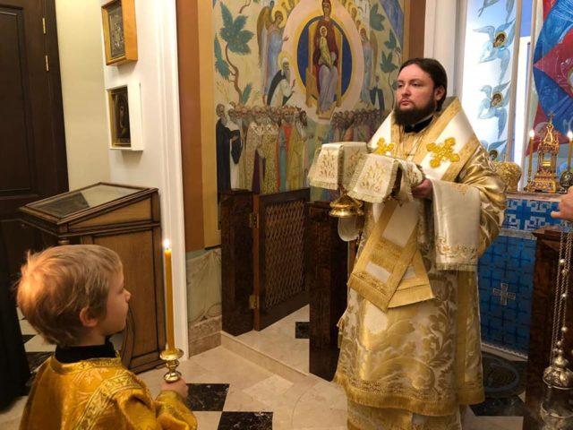 Ректор Академии совершил Литургию в праздник Обрезания Господня