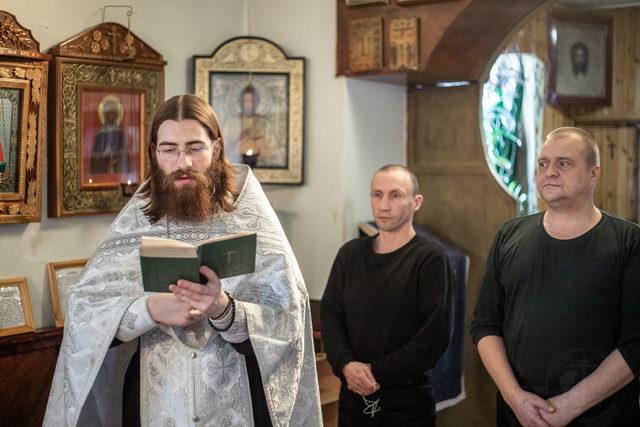 Студенты Академии совершили Таинство крещения в Исправительной колонии №6