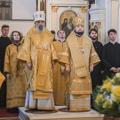 Иерарх Антиохийской Церкви возглавил воскресную Литургию в храме Академии