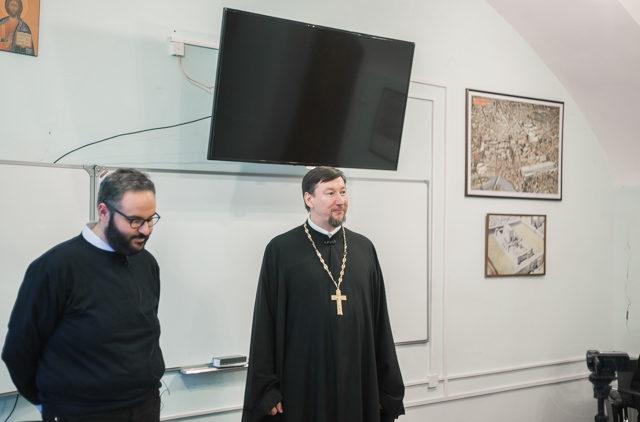 Профессор Папского библейского института выступил с лекциями в Духовной Академии