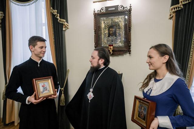 Союз любви. Учащиеся Академии получили благословение на брак