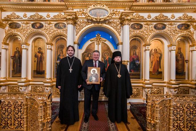 Ректор Академии совершил молебен в Санкт-Петербургском политехническом университете по случаю его 120-летия