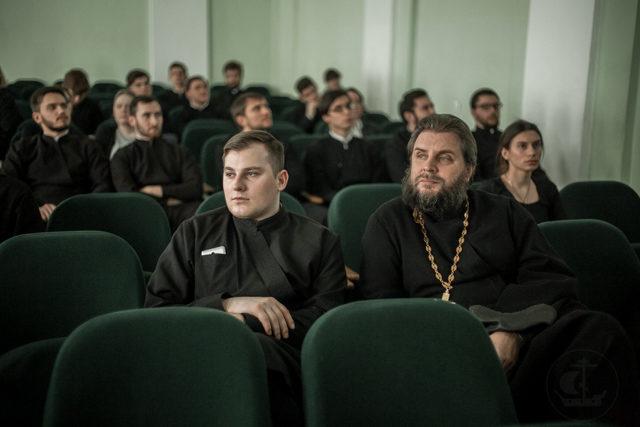 Кинолекторий с протоиереем Георгием Митрофановым. В Духовной Академии состоялся просмотр и обсуждение фильма «Третье чудо»