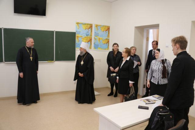 Проректор по культуре Духовной Академии возглавила Инспекционную комиссию Учебного комитета, посетившую Саранскую духовную семинарию